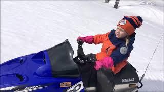 видео Детские снегоходы