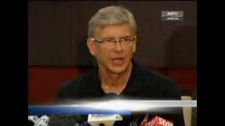 Arsenal vs Malaysia 2012 full match with post match reviews from Arsene Wenger