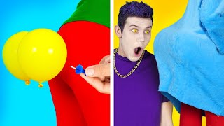 FUNNY DIY COUPLE PRANKS || Top Crazy Ideas To Prank Your School Friends Girls VS Boys By 123GO! BOYS