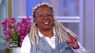 Whoopi Goldberg Shares Her Latest Happenings  The View