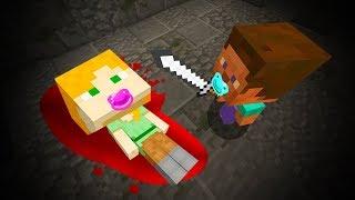 BABY MINECRAFT -  BABY STEVE KILLS BABY ALEX