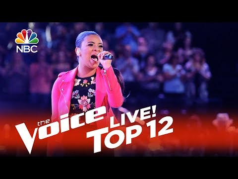 """The Voice Top 12 2015 - Koryn Hawthrone: """"Stronger (What Doesn't Kill You)"""""""