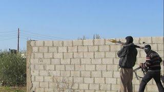 فيديو للاشتباكات بين الجيش والجماعة الارهابية في سيناء 29/1/2015