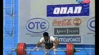 1999 World Weightlifting 77 kg Highlights