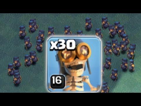 ALL MAX LVL 16 BOMBERS!!! | Clash Of Clans | TROLL RAID!!