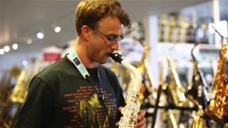 Vibrato A1SG Polycarbonate Alto Saxophone