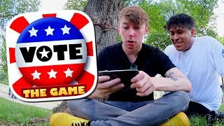 ALMOST FORTNITE!!! 🔴VOTE: THE GAME in WASHINGTON D.C.