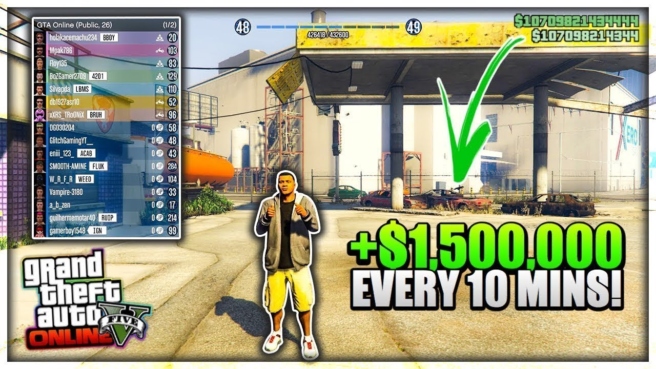 Gta 5 Solo Money Glitch 1 42