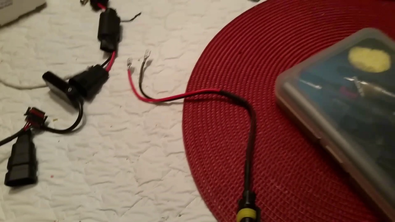 2013 hyundai veloster: remix edition - how to modify LED headlight on