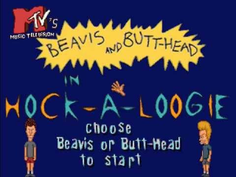 Beavis and butthead hock a loogie