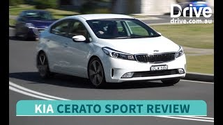 2017 Kia Cerato Sedan She Says, He Says Review  Drive.com.au