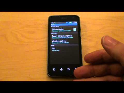 App-Review LG O2X Touch LED Notifications für LG P990 OPTIMUS Speed