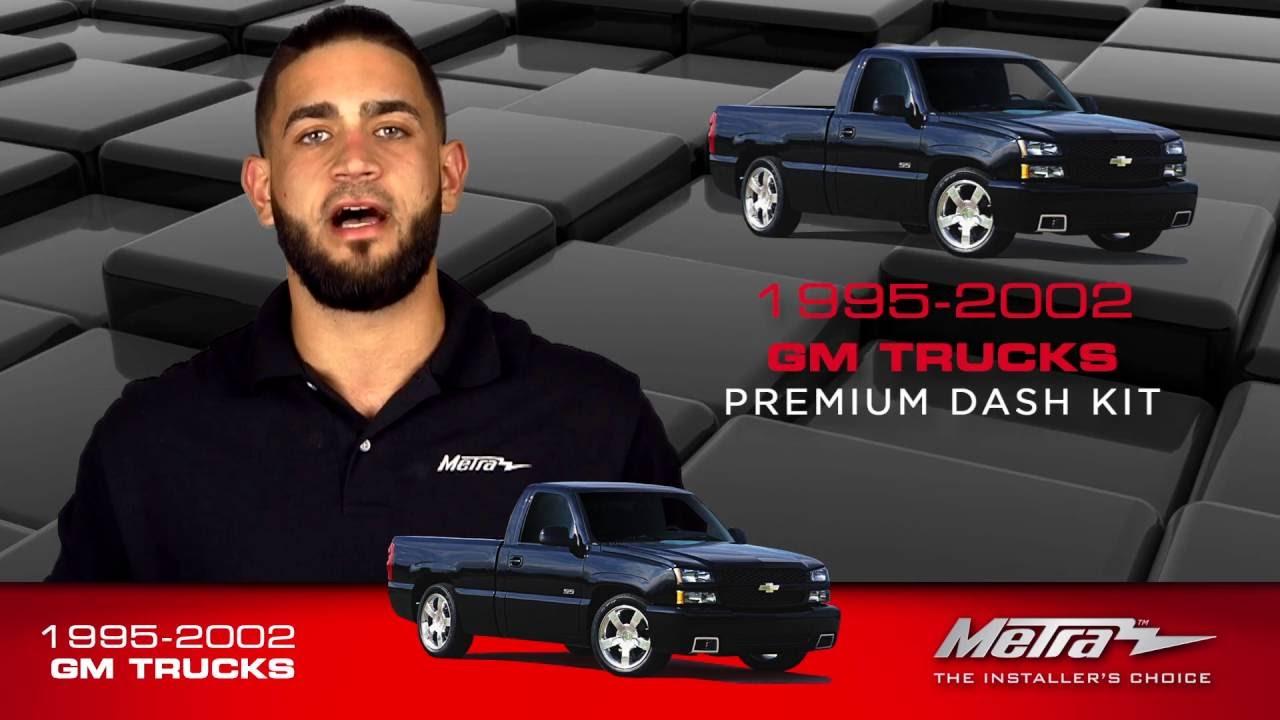 Metra Gm Trucks Dash Kit Dp 3003 95 3003g Youtube Wiring Harness And Installation Tools