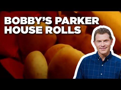How to make bobbys parker house rolls food network youtube how to make bobbys parker house rolls food network forumfinder Images