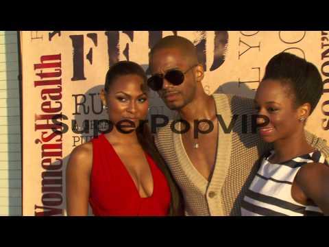 Tashiana Washington, Eric West and Monique Coleman at Wom...