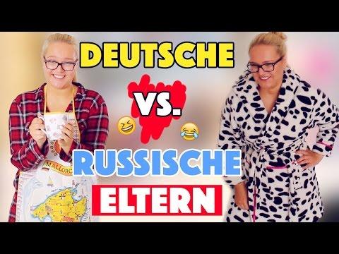 TYPISCH ELTERN: DEUTSCHE vs. RUSSEN | Ausländer Eltern | Annaxo