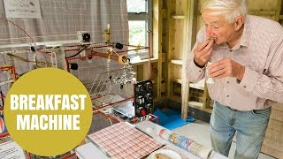 Barking mad mechanic made Wallace and Gromit style breakfast machine