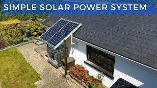My Simple Solar Power System
