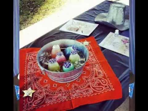 & DIY Western party decorations ideas - YouTube