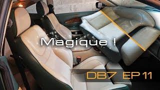 Aston DB7 Episode 11 - Rénovation du cuir