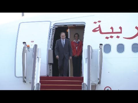 Egyptian President Arrives in Hangzhou for G20 Summit