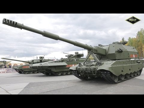 Russian Arms Expo 2015 - Military Assets Live Firing Demonstration [1080p]