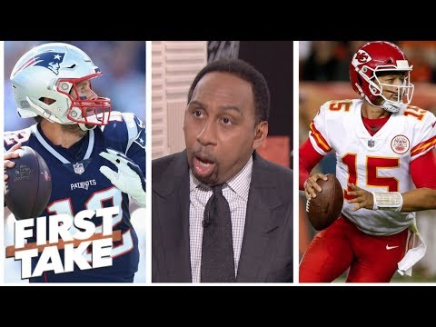 Stephen A. Picks Chiefs Over Patriots As The Team To Beat In The AFC | First Take | ESPN