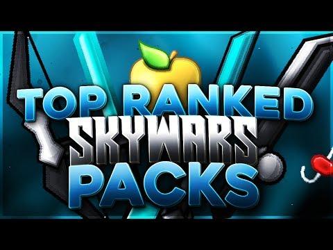 My Top 5 FAVORITE Packs For RANKED SKYWARS! (Hypixel Ranked Skywars)
