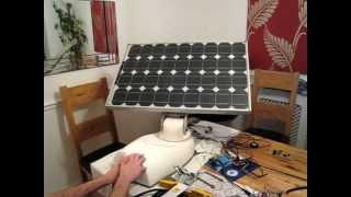 Arduino Solar Tracker (Alpha 2)