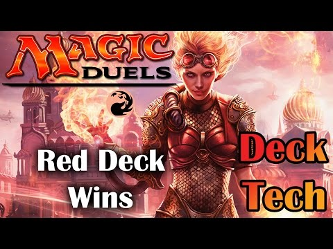 Magic Duels | Red Deck Wins Deck Tech