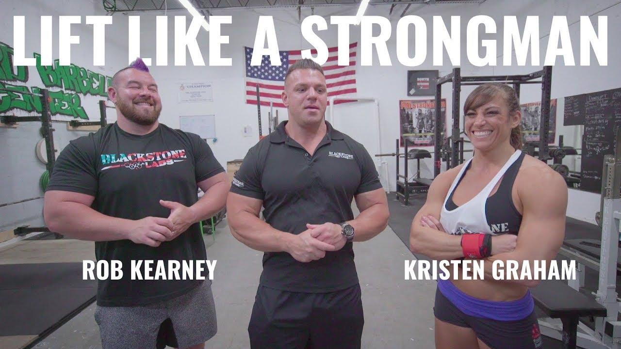 Lift Like A Strongman feat. Rob Kearney & Kristen Graham   NEW SERIES