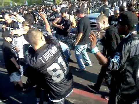 Oakland Raiders vs. Cleveland Parking Lot Party