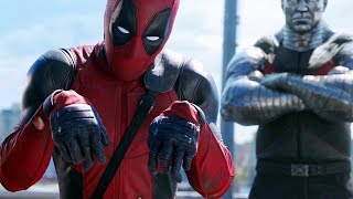 Deadpool vs Colossus - Hand Cut Off (Scene) Deadpool (2016) Movie CLIP HD
