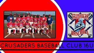 Crusaders Baseball Club 16U BATTING HIGHLIGHTS vs Hudson Valley Aces NEW YORK ELITE BASEBALL FALL 20