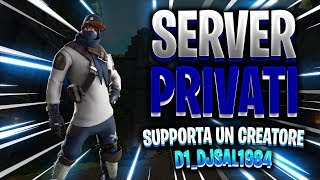 LIVE FORTNITE - PRIVATE SERVERS FOR ALL - EXCLUSIVE / REGALO 2 SKIN TO YOUR SCELTA!!!
