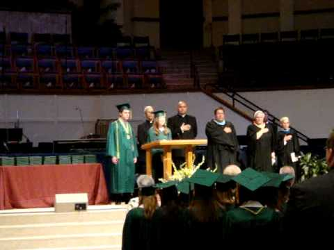 Valerie-National Anthem at CHS Graduation