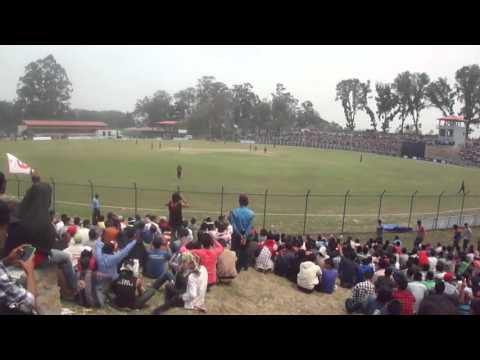 Nepal Vs Namibia, Incredible Nepalese Cricket Fans Crowd at Kirtipur Ground