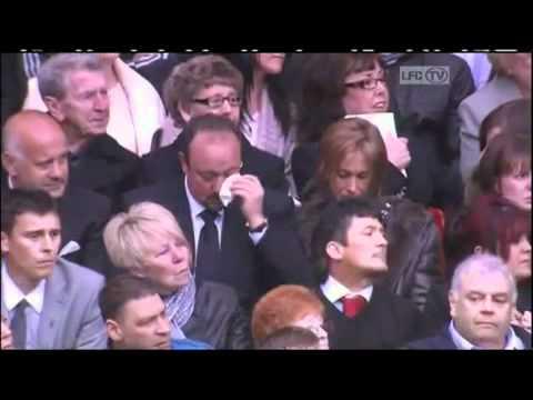 Rafa Benitez in tears at Hillsborough 22 memorial