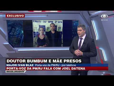 'Doutor Bumbum' e mãe são presos no Rio de Janeiro