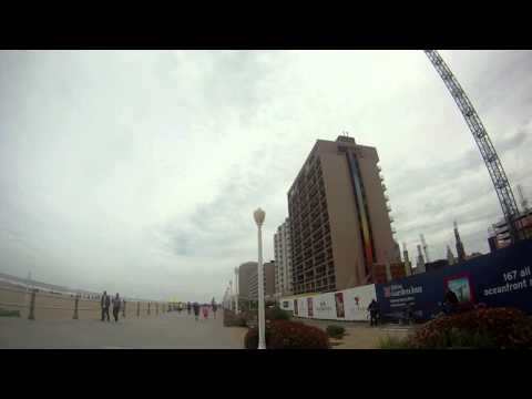 Run For Boston at Virginia Beach Board walk (gopro960)
