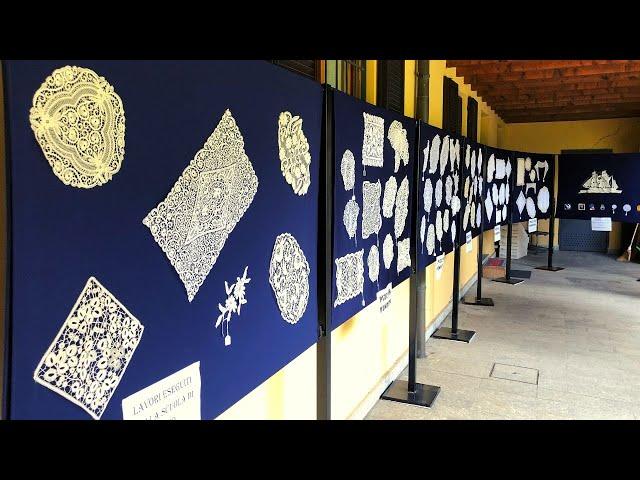 Mostra di Pizzi al Tombolo di Vighizzolo [object object] Home sddefault