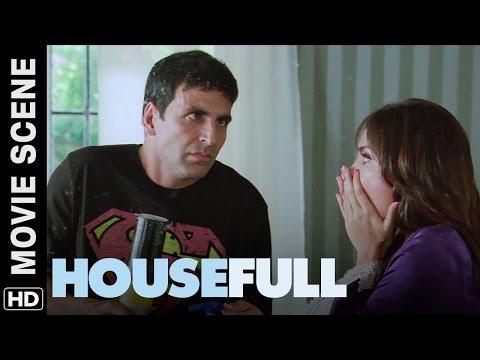 Akshay cleans the house | Housefull | Movie Scene