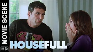 Akshay cleans the house | Housefull | Movie Scene