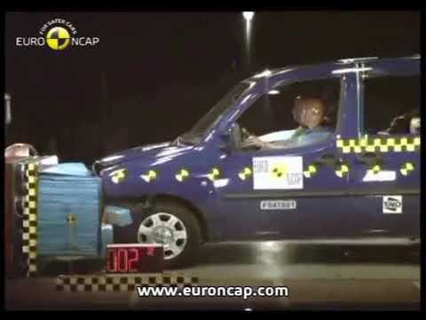 Rezillik! 2004 Model Fiat Doblo Kaza Testi