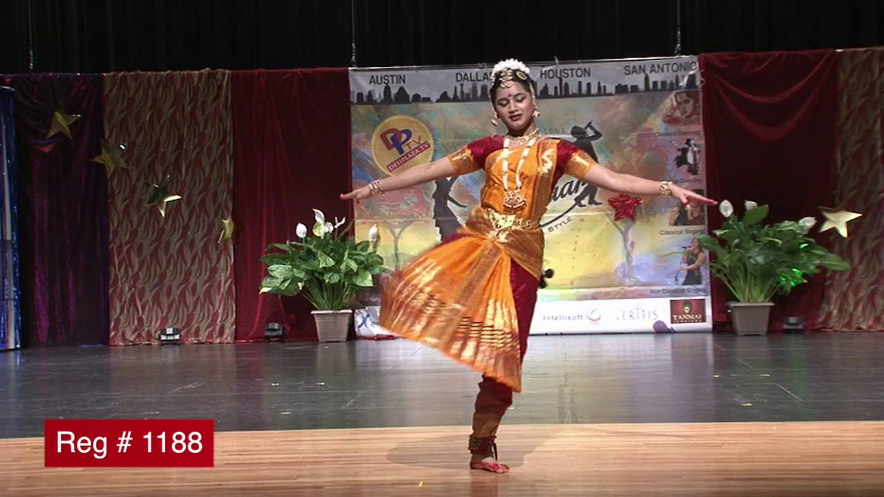 Participant Reg# 1188 Dancing for  Texas Star Kalakaar Title  on Saturday, June 4, 2016