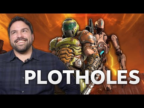 EXCLUSIVE - DOOM Eternal Plot Holes Answered - Hugo Martin Interview |