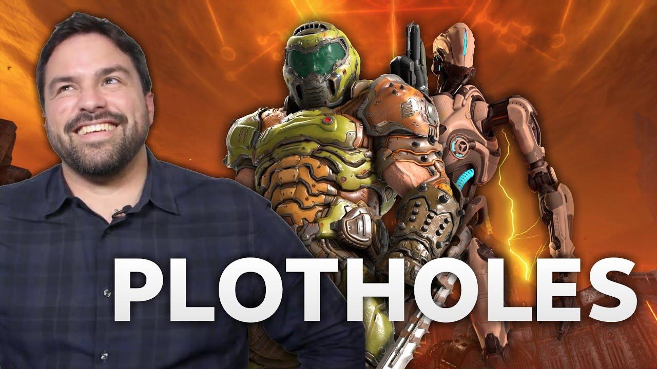 EXCLUSIVE - DOOM Eternal Plot Holes Answered - Hugo Martin Interview