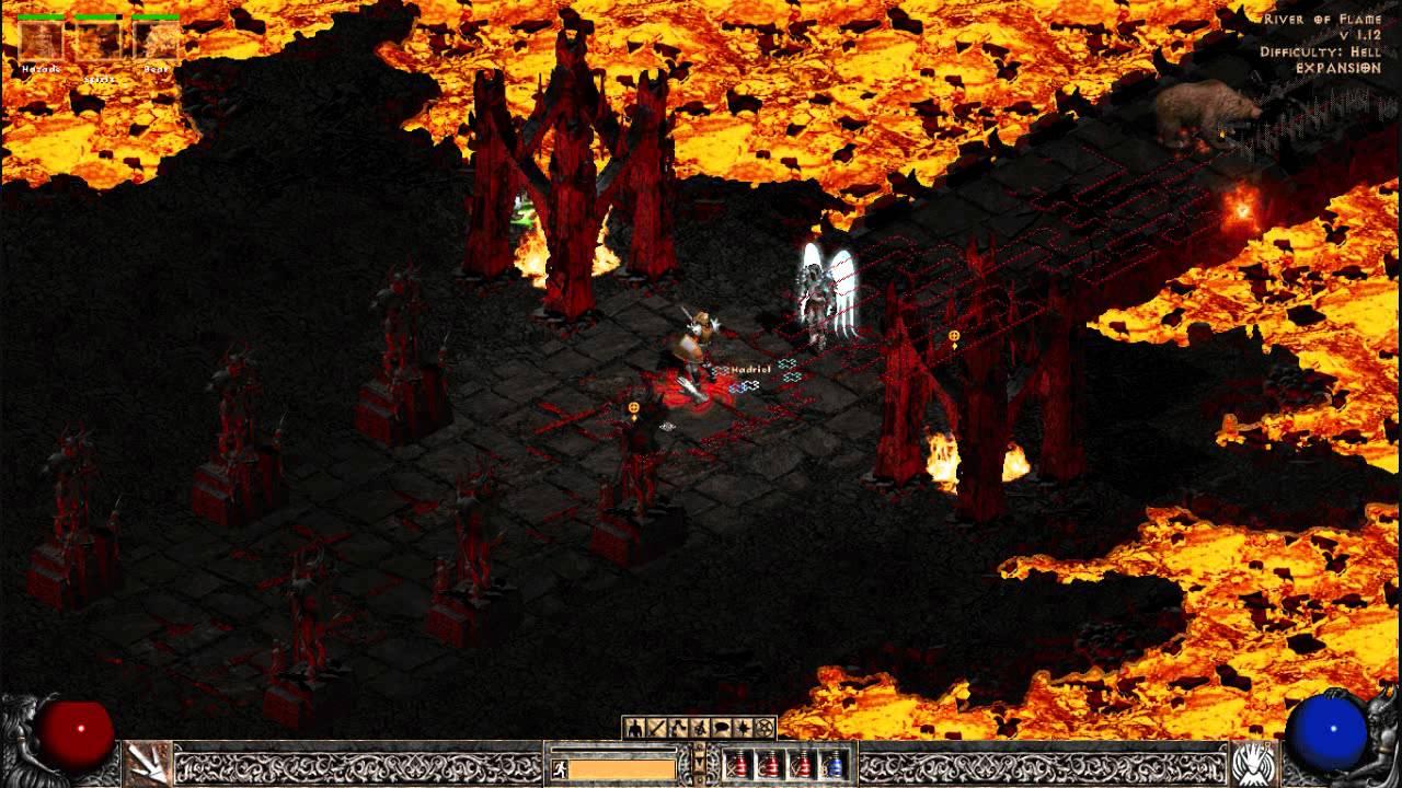 Diablo 2 - Trap Sin/Fire Druid Builds (Assassin & Druid) - YouTube