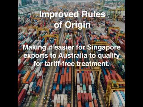 Ratification Of The Upgraded Singapore Australia Free Trade
