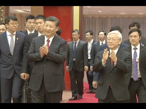 President Xi Calls for Advancing of China-Vietnam Comprehensive Strategic Cooperative Partnership